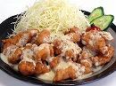 【送料無料*一部地域を除く】若鶏もも使用☆九州名物・チキン南蛮セット☆とり天用もも肉[4袋]+たれ&ソース[各1本]